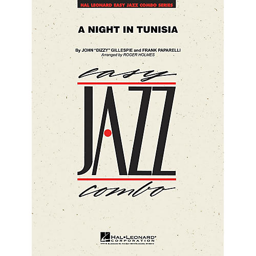 Hal Leonard A Night in Tunisia Jazz Band Level 2 by Dizzy Gillespie Arranged by Roger Holmes-thumbnail
