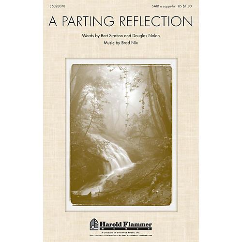 Shawnee Press A Parting Reflection SATB a cappella composed by Brad Nix-thumbnail