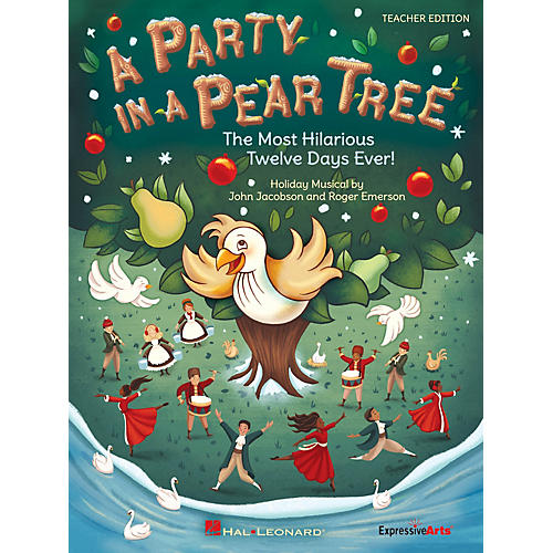Hal Leonard A Party in a Pear Tree Performance/Accompaniment CD Composed by John Jacobson-thumbnail