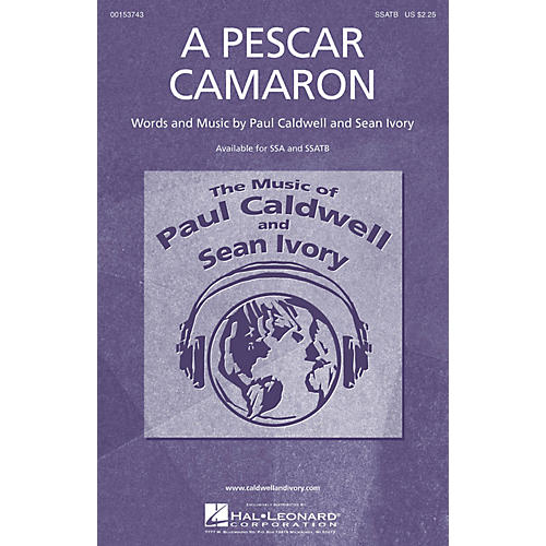 Caldwell/Ivory A Pescar Camaron SSATB composed by Paul Caldwell-thumbnail
