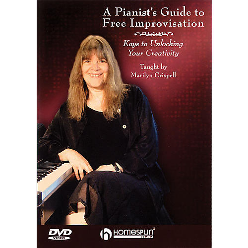 Homespun A Pianist's Guide to Free Improvisation (DVD) Homespun Tapes Series DVD-thumbnail