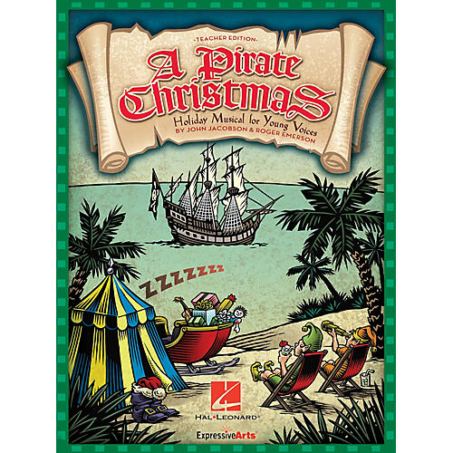 Hal Leonard A Pirate Christmas (Holiday Musical for Young Voices) Preview Pak Composed by John Jacobson-thumbnail