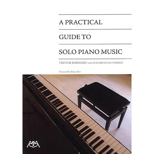 Meredith Music A Practical Guide to Solo Piano Music Meredith Music Resource Series Written by Trevor Barnard-thumbnail