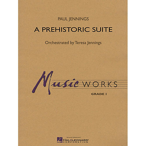Hal Leonard A Prehistoric Suite Concert Band Level 1.5 Composed by Paul Jennings-thumbnail