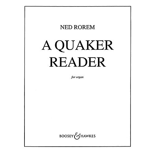 Boosey and Hawkes A Quaker Reader (Eleven Pieces for Organ) BH Organ Series-thumbnail