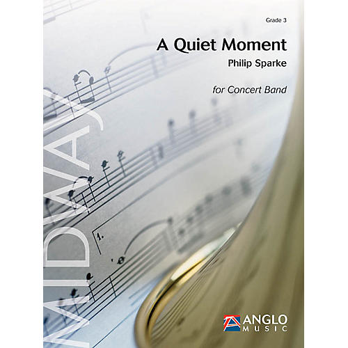 Anglo Music Press A Quiet Moment (Grade 3 - Score Only) Concert Band Level 3 Composed by Philip Sparke-thumbnail