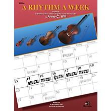 Alfred A Rhythm a Week Viola