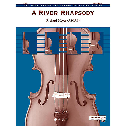 Alfred A River Rhapsody String Orchestra Grade 2.5-thumbnail