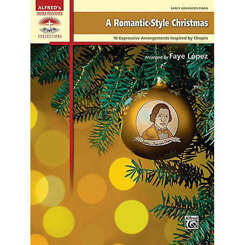 Alfred A Romantic-Style Christmas Early Advanced Piano Book-thumbnail