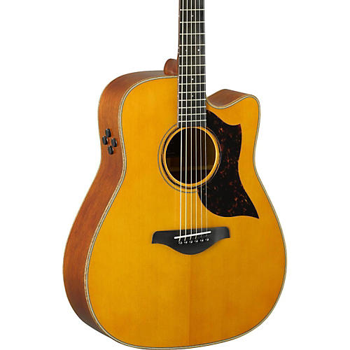 Yamaha A-Series A3M Dreadnought Cutaway Acoustic-Electric Guitar-thumbnail