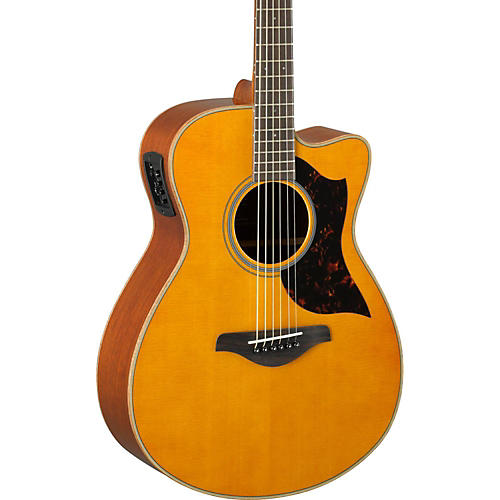 Yamaha A-Series AC1M Cutaway Concert Acoustic-Electric Guitar-thumbnail