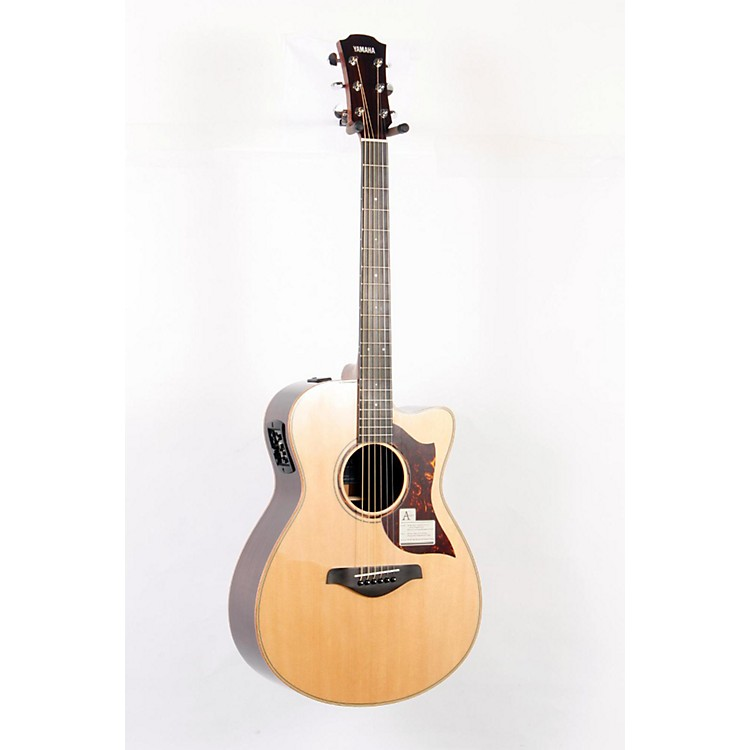 YamahaA-Series All Solid Wood Concert Acoustic-Electric Guitar with SRT Preamp/Pickup