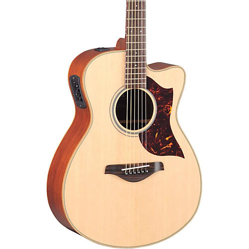 Yamaha A-Series Concert Acoustic-Electric Guitar with SRT Pickup