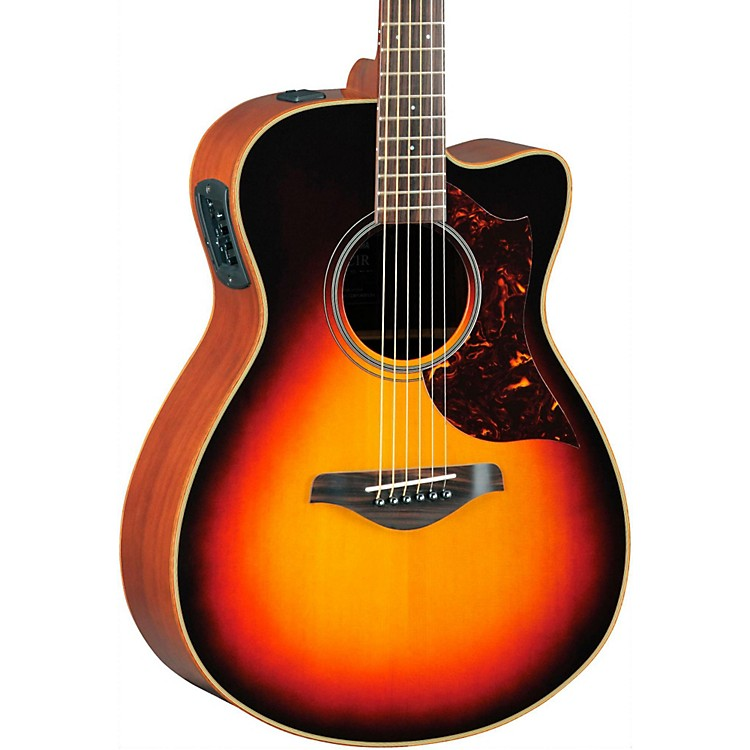 Yamaha A-Series Concert Acoustic-Electric Guitar with SRT Pickup Vintage Sunburst