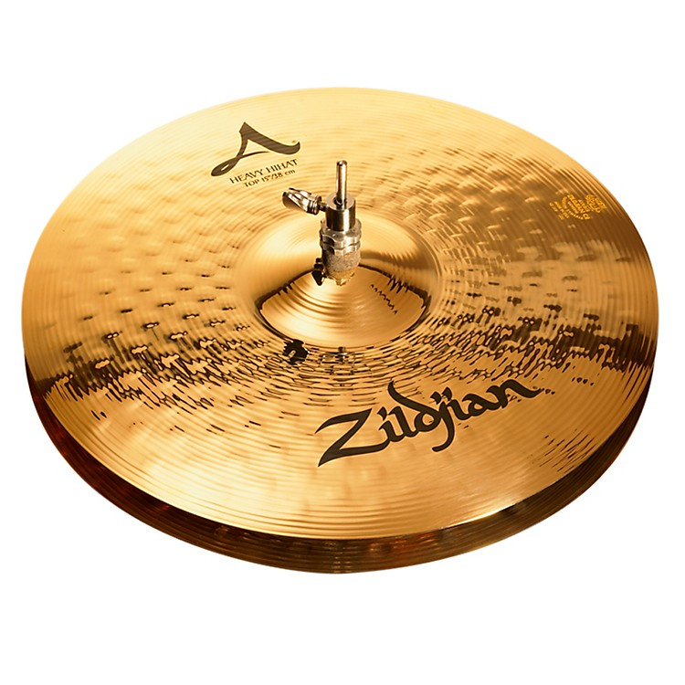Zildjian A Series Heavy Hi-Hat Cymbal Pair Brilliant 15 Inch