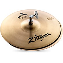 Zildjian A Series New Beat Hi-Hat Cymbal Pair 13 in.