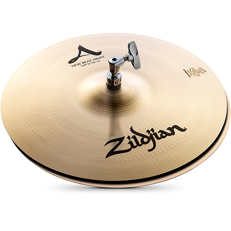 Zildjian A Series New Beat Hi-Hat Cymbal Pair  14 Inches