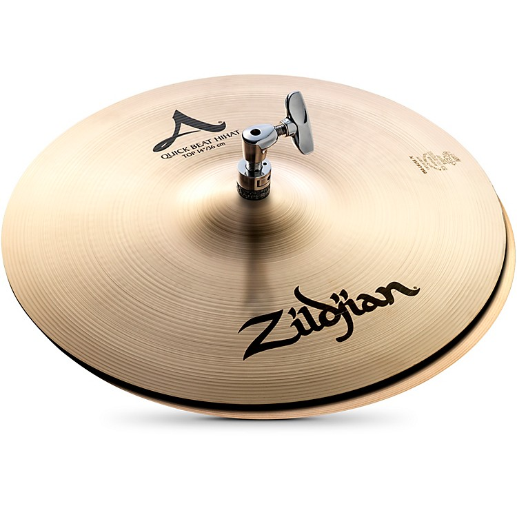 Zildjian A Series Quick Beat Hi-Hat Pair  14 Inches