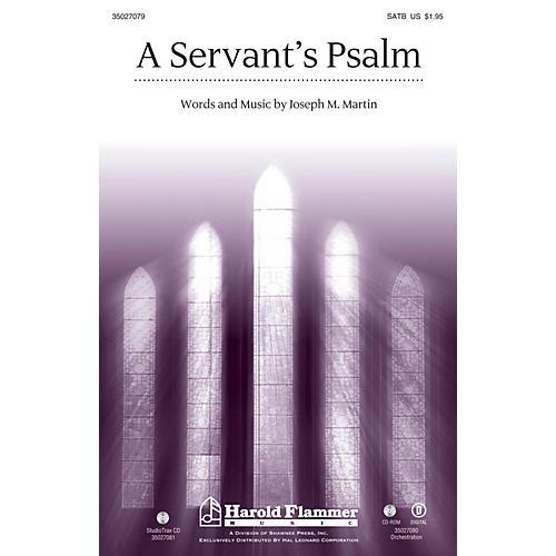 Shawnee Press A Servant's Psalm Studiotrax CD Composed by Joseph M. Martin-thumbnail