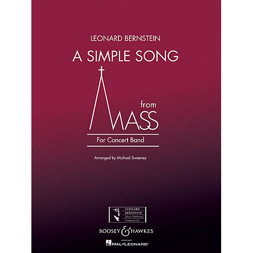 Boosey and Hawkes A Simple Song (from Mass) Concert Band Level 3 Composed by Stephen Schwartz Arranged by Michael Sweeney-thumbnail
