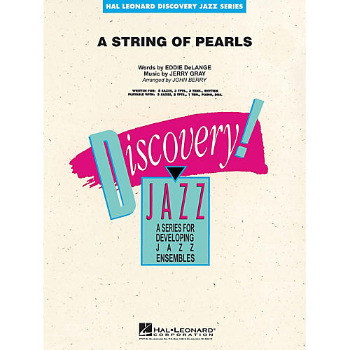 Hal Leonard A String of Pearls Jazz Band Level 1-2 Arranged by John Berry-thumbnail
