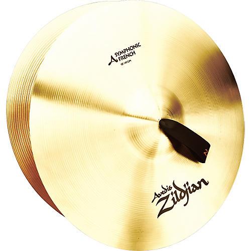 Zildjian A Symphonic French Tone Crash Cymbal Pair