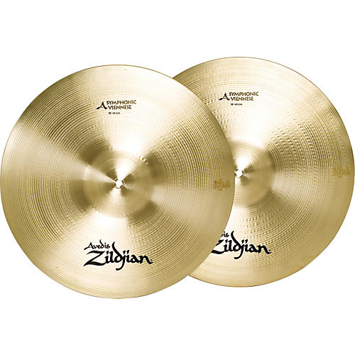Zildjian A Symphonic Viennese Tone Crash Cymbal Pair 18 in.-thumbnail