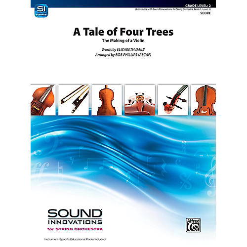 Alfred A Tale of Four Trees String Orchestra Grade 2-thumbnail
