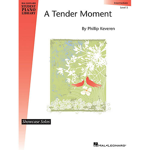 Hal Leonard A Tender Moment Piano Library Series by Phillip Keveren (Level Inter)-thumbnail