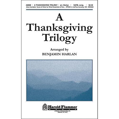 Hal Leonard A Thanksgiving Trilogy SATB