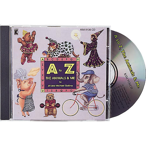 Kimbo A To Z, The Animals and Me CD/Guide