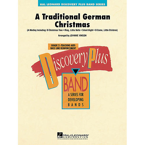 Hal Leonard A Traditional German Christmas - Discovery Plus Concert Band Series Level 2 arranged by Johnnie Vinson