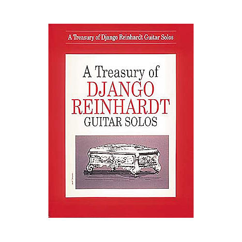 Hal Leonard A Treasury Of Django Reinhardt Guitar Solos Book