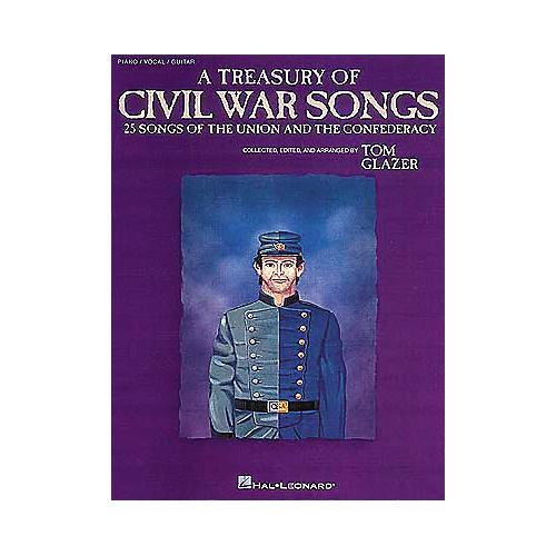 Hal Leonard A Treasury of Civil War Songs Piano/Vocal/Guitar Songbook