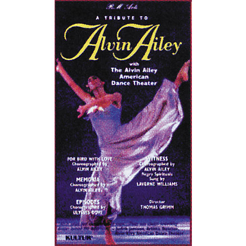 Kultur A Tribute to Alvin Ailey Video