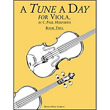 Music Sales A Tune A Day Viola Book 2