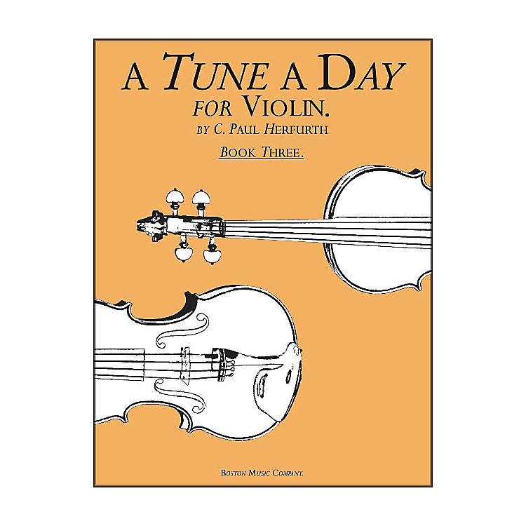Music SalesA Tune A Day for Violin Book 3