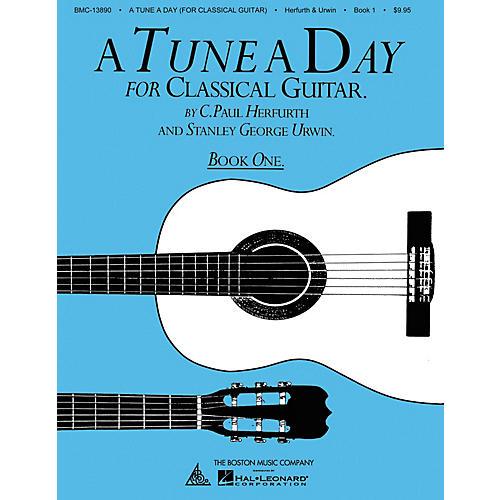 Boston Music A Tune a Day - Classical Guitar (Book 1) Music Sales America Series Written by C. Paul Herfurth-thumbnail