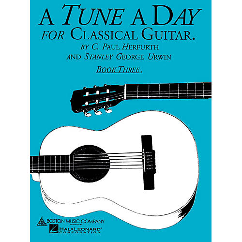 Music Sales A Tune a Day - Classical Guitar (Book 3) Music Sales America Series Softcover Written by C. Paul Herfurth-thumbnail