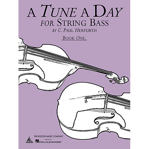 Music Sales A Tune a Day - String Bass (Book 1) Music Sales America Series Written by C. Paul Herfurth-thumbnail