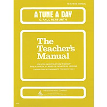 Music Sales A Tune a Day - Violin (Teacher's Manual) Music Sales America Series Written by C. Paul Herfurth