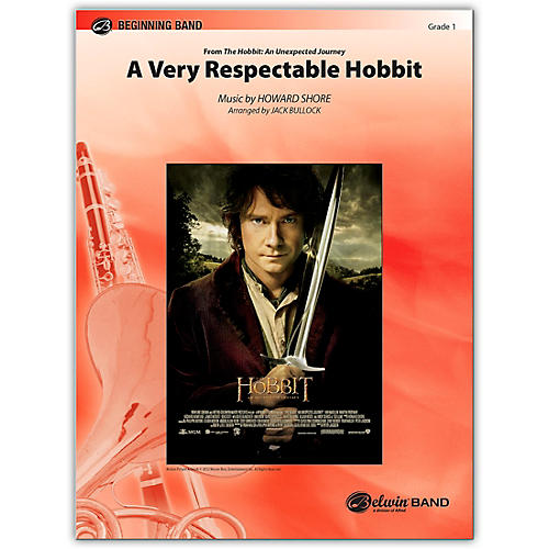 Alfred A Very Respectable Hobbit (from The Hobbit: An Unexpected Journey) Concert Band Grade 1 Set