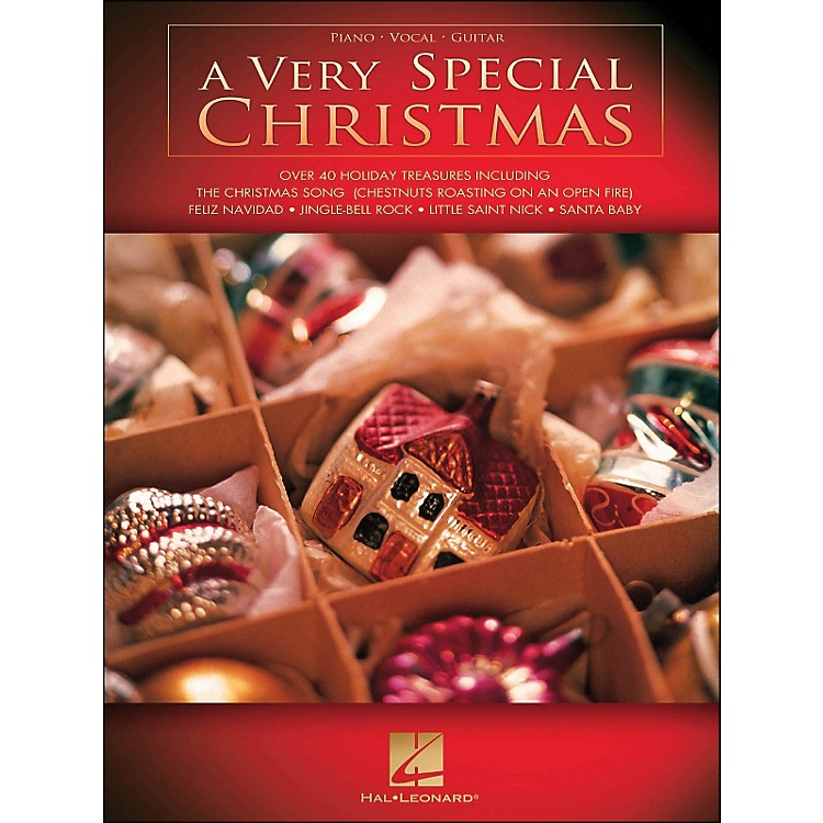 Hal Leonard A Very Special Christmas arranged for piano, vocal, and guitar (P/V/G)