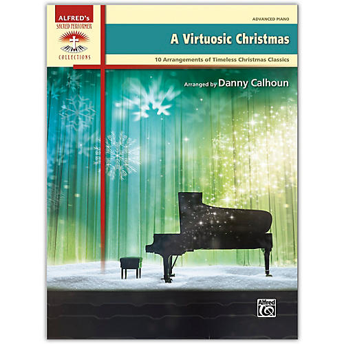 Alfred A Virtuosic Christmas Book Advanced