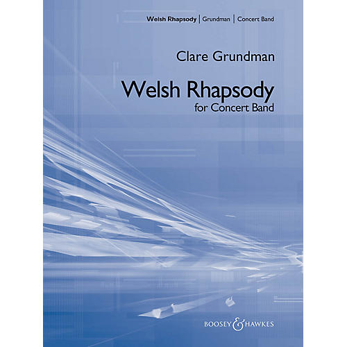 Boosey and Hawkes A Welsh Rhapsody Concert Band Composed by Clare Grundman-thumbnail