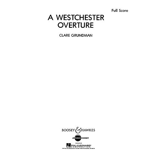 Boosey and Hawkes A Westchester Overture (Score and Parts) Concert Band Composed by Clare Grundman-thumbnail