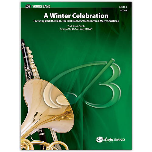 BELWIN A Winter Celebration Conductor Score 2 (Easy)-thumbnail