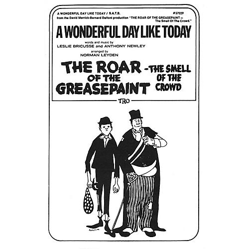 TRO ESSEX Music Group A Wonderful Day Like Today SAB Arranged by Norman Leyden-thumbnail