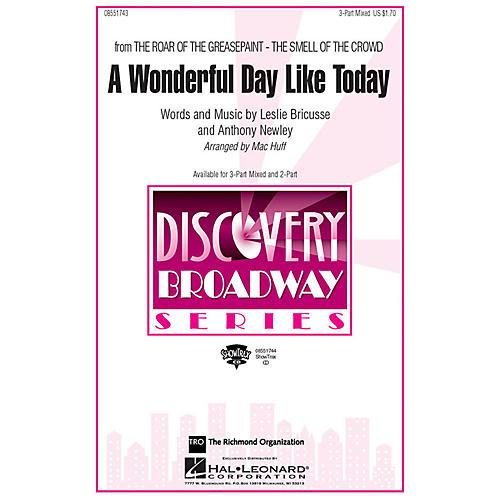 Hal Leonard A Wonderful Day Like Today ShowTrax CD Arranged by Mac Huff-thumbnail