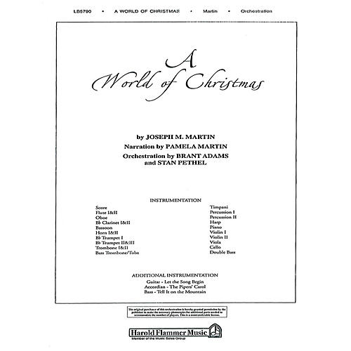 Shawnee Press A World of Christmas Score & Parts composed by Joseph M. Martin-thumbnail